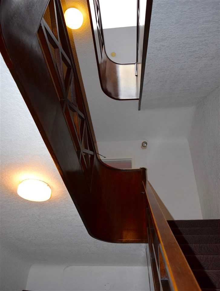 Restored Wood Staircase