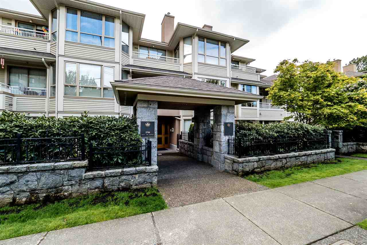 "Main Photo: 209 3766 W 7TH Avenue in Vancouver: Point Grey Condo for sale in ""THE CUMBERLAND"" (Vancouver West)  : MLS® # R2190869"