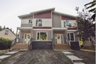 Main Photo: 11624 128 Street in Edmonton: Zone 07 House Duplex for sale : MLS® # E4089392