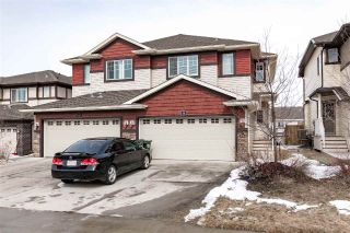 Main Photo: 14 Sunterra Way: Sherwood Park House Half Duplex for sale : MLS®# E4103859
