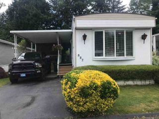 Main Photo: 327 1840 160 Street in Surrey: King George Corridor Manufactured Home for sale (South Surrey White Rock)  : MLS®# R2287029