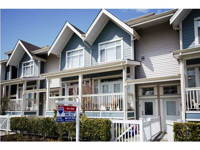 "Main Photo: 8 4311 BAYVIEW Street in Richmond: Steveston South Townhouse for sale in ""IMPERIAL LANDING"" : MLS® # V896256"