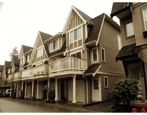 Main Photo: 22 8775 161 Street in Surrey: Fleetwood Townhouse for sale : MLS®# F2805826