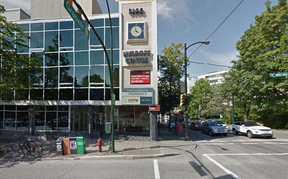 Main Photo: 210 3195 GRANVILLE Street in Vancouver: Fairview VW Commercial for lease (Vancouver West)  : MLS®# C8001009