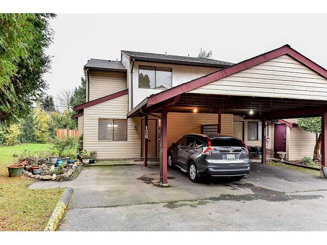 "Main Photo: 126 13880 74 Avenue in Surrey: East Newton Townhouse for sale in ""Wedgewood"" : MLS®# R2015245"