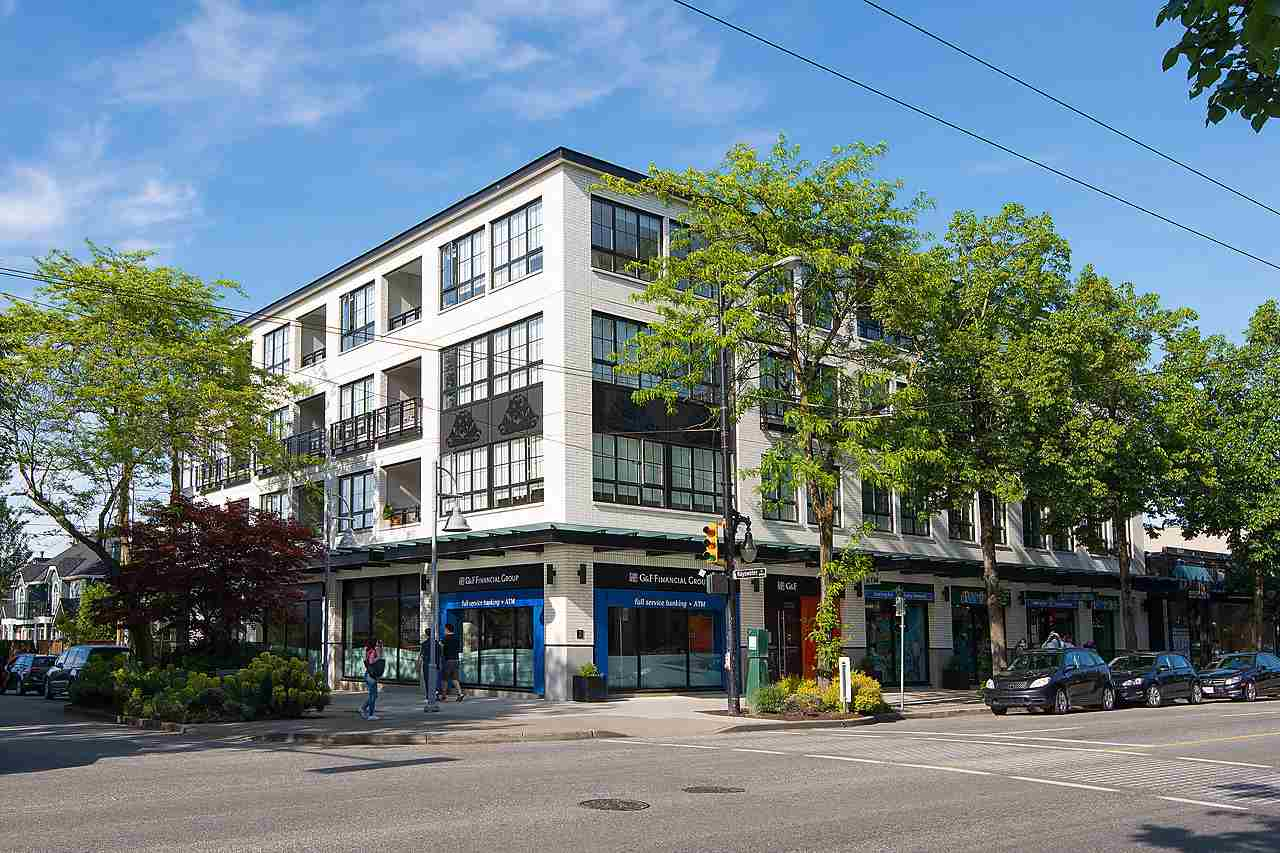 "Main Photo: 202 2468 BAYSWATER Street in Vancouver: Kitsilano Condo for sale in ""BAYSWATER"" (Vancouver West)  : MLS®# R2067203"