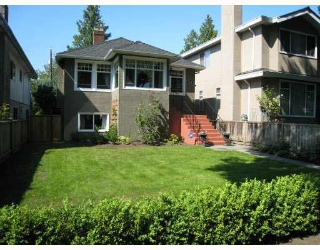 Main Photo: 1529 W 63RD AVENUE in : South Granville House for sale : MLS® # V771861