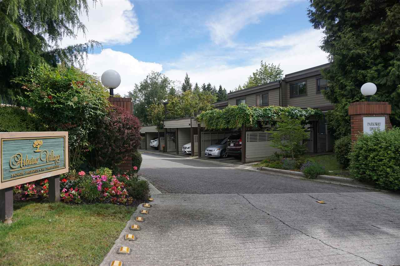 "Main Photo: 4097 PARKWAY Drive in Vancouver: Quilchena Townhouse for sale in ""ARBUTUS VILLAGE"" (Vancouver West)  : MLS(r) # R2157602"