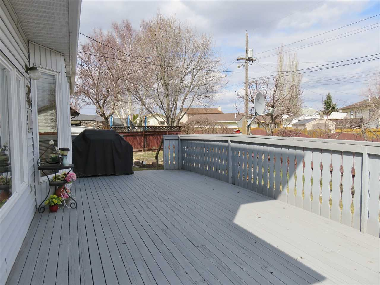 View of the huge rear deck! :)
