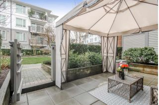 "Main Photo: 130 9388 MCKIM Way in Richmond: West Cambie Condo for sale in ""MAYFAIR PLACE"" : MLS® # R2239064"