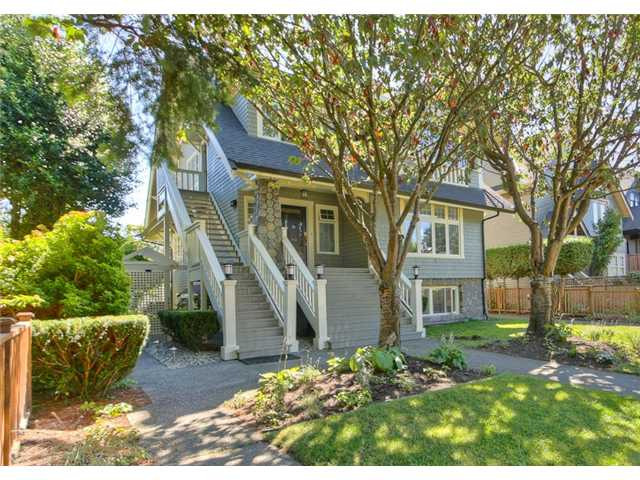 "Main Photo: 3450 W 3RD Avenue in Vancouver: Kitsilano Townhouse for sale in ""COLLINGWOOD MANOR"" (Vancouver West)  : MLS®# V924454"