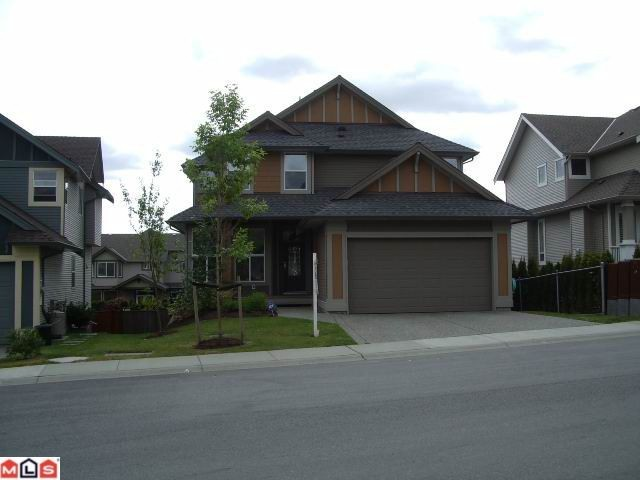 "Main Photo:  in Langley: Willoughby Heights House for sale in ""CAMDEN PARK"" : MLS® # F1200656"