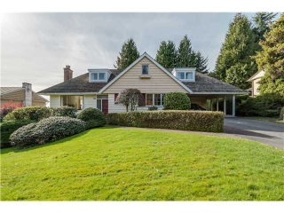 Main Photo: 1813 ST. DENIS Road in West Vancouver: Ambleside House for sale : MLS® # V1108896