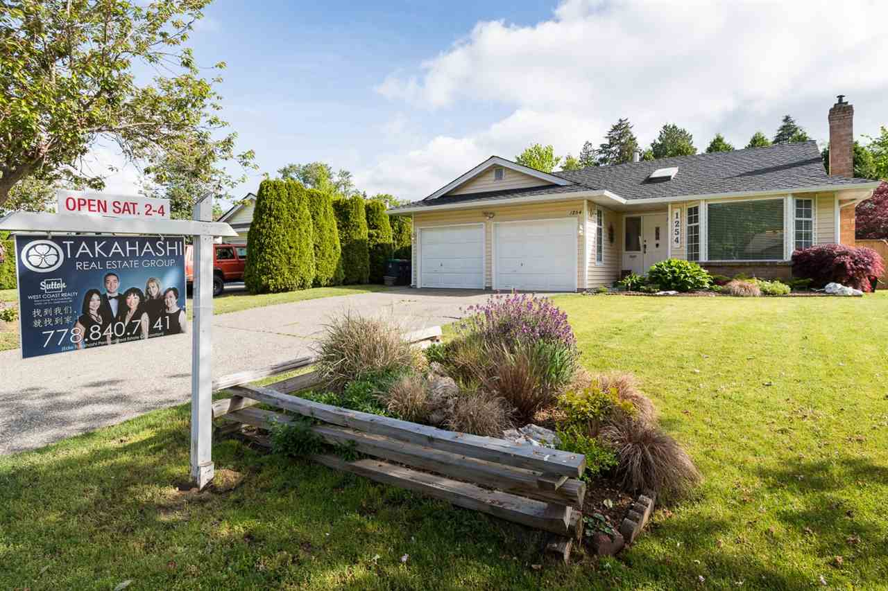 "Main Photo: 1254 163A Street in Surrey: King George Corridor House for sale in ""SOUTH MERIDIAN"" (South Surrey White Rock)  : MLS®# R2062407"