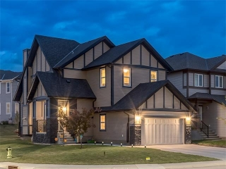 Main Photo: 83 SILVERADO SKIES Drive SW in Calgary: Silverado House for sale : MLS® # C4065078
