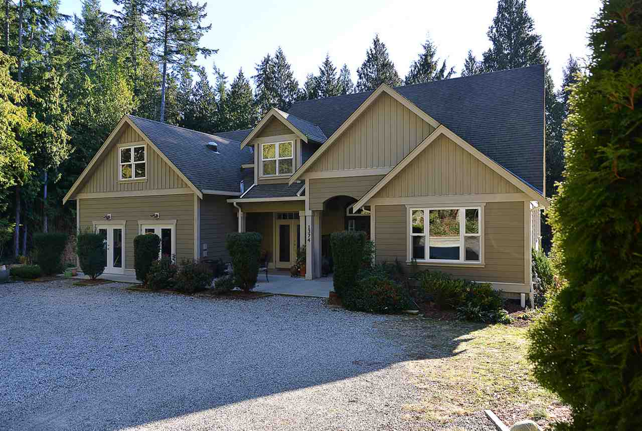 "Main Photo: 1374 - 1376 ROBERTS CREEK Road: Roberts Creek House for sale in ""ROBERTS CREEK"" (Sunshine Coast)  : MLS(r) # R2101207"