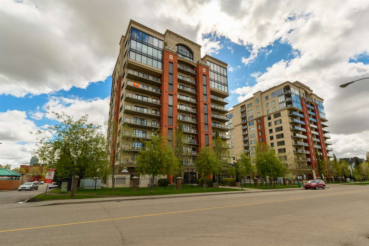 Main Photo: 607 10319 111 Street in Edmonton: Zone 12 Condo for sale : MLS(r) # E4064696