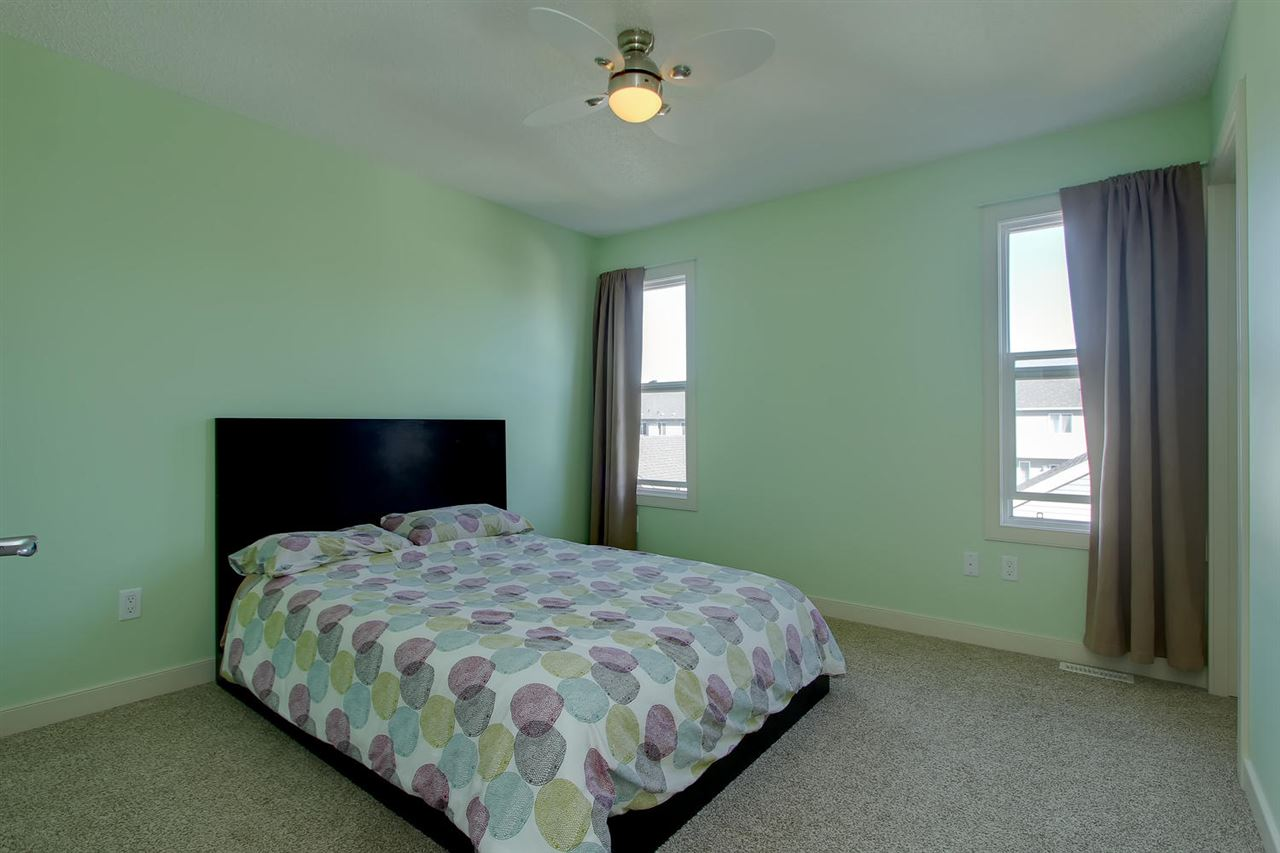 The master bedroom is large enough to accommodate a king size bed and all your bedroom furniture.
