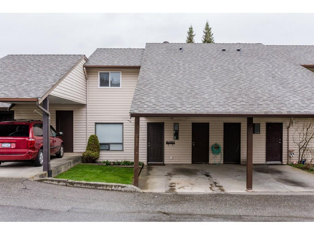 "Main Photo: 271 27411 28 Avenue in Langley: Aldergrove Langley Townhouse for sale in ""Alderview"" : MLS®# R2252061"