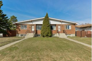 Main Photo: 170 Woodvale Road West in Edmonton: Zone 29 House Half Duplex for sale : MLS®# E4108832