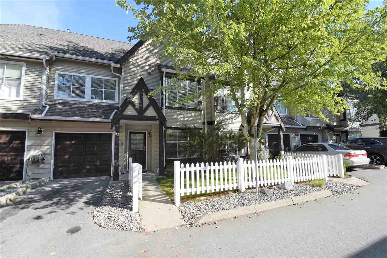 "Main Photo: 52 12099 237 Street in Maple Ridge: East Central Townhouse for sale in ""The Gabriola"" : MLS®# R2307632"