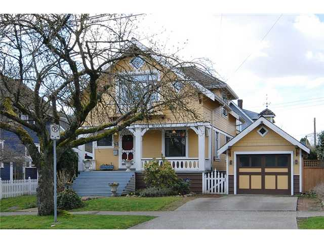 Main Photo: 326 3RD Street in New Westminster: Queens Park House for sale : MLS® # V882156