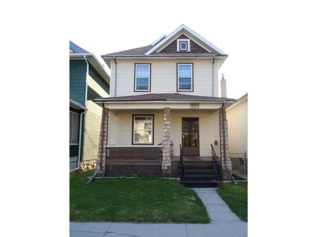 Main Photo: 490 Newman Street in WINNIPEG: West End / Wolseley Residential for sale (West Winnipeg)  : MLS® # 1109437