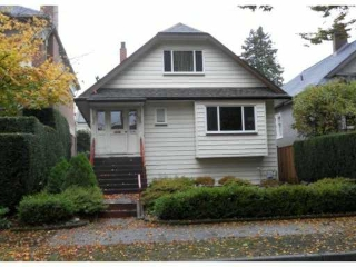 Main Photo: 1081 CYPRESS Street in Vancouver: Kitsilano House for sale (Vancouver West)  : MLS® # V919284