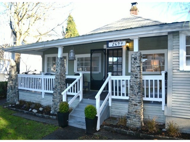 "Main Photo: 2694 MCBRIDE Avenue in Surrey: Crescent Bch Ocean Pk. House for sale in ""CRESCENT BEACH"" (South Surrey White Rock)  : MLS® # F1427486"