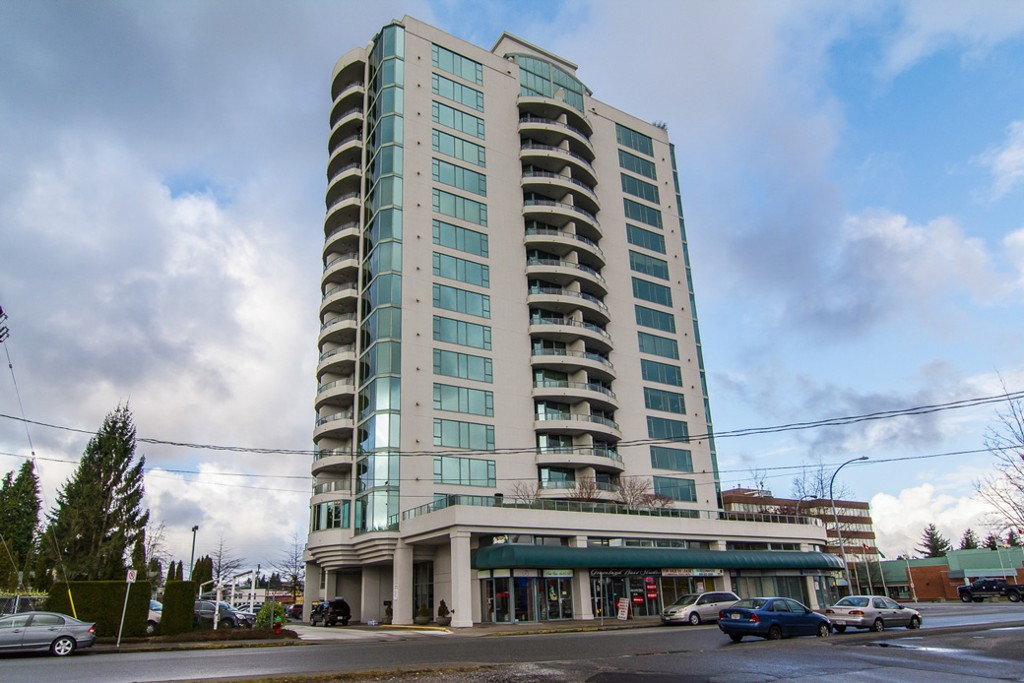 "Main Photo: 1601 32330 S FRASER Way in Abbotsford: Abbotsford West Condo for sale in ""Town Centre Tower"" : MLS® # F1430127"