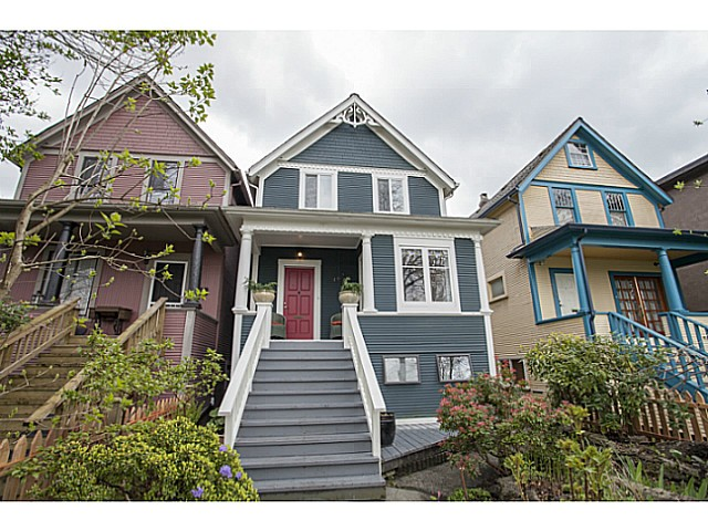 Main Photo: 462 E 8TH Avenue in Vancouver: Mount Pleasant VE House for sale (Vancouver East)  : MLS®# V1114455