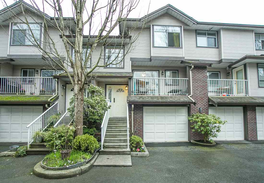 "Main Photo: 20 2450 LOBB Avenue in Port Coquitlam: Mary Hill Townhouse for sale in ""SOUTHSIDE"" : MLS®# R2040698"