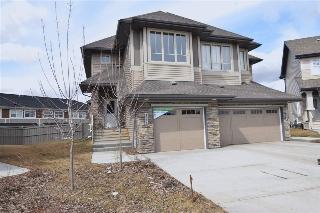 Main Photo: 4091 ALLAN Crescent in Edmonton: Zone 56 House Half Duplex for sale : MLS(r) # E4059114