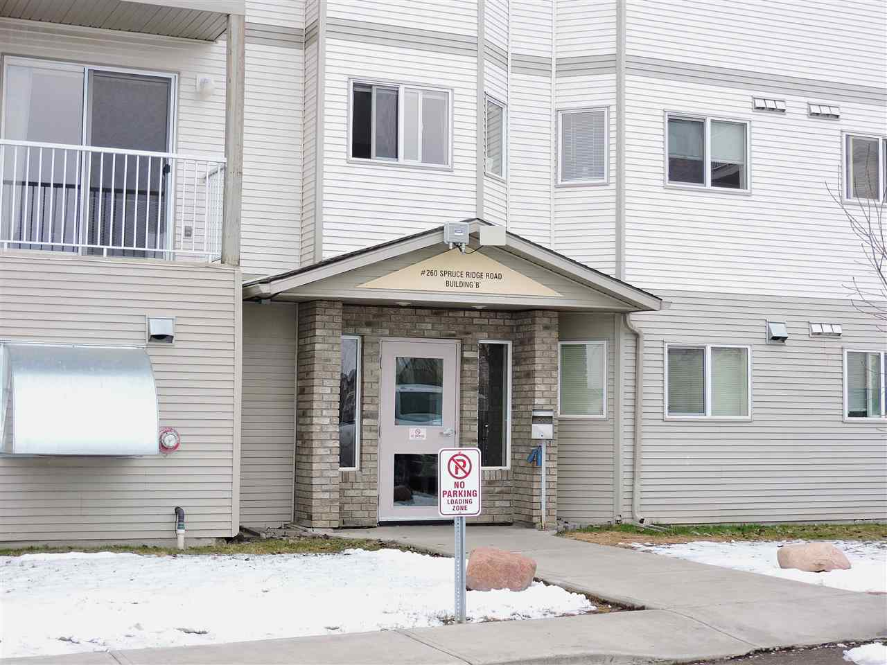 Main Photo: 201B 260 Spruce Ridge Road: Spruce Grove Condo for sale : MLS(r) # E4060111