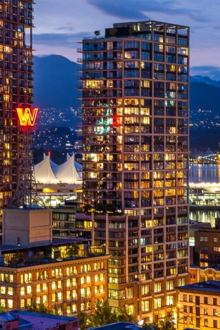 "Main Photo: 2503 128 W CORDOVA Street in Vancouver: Downtown VW Condo for sale in ""WOODWARDS W43"" (Vancouver West)  : MLS® # R2161032"