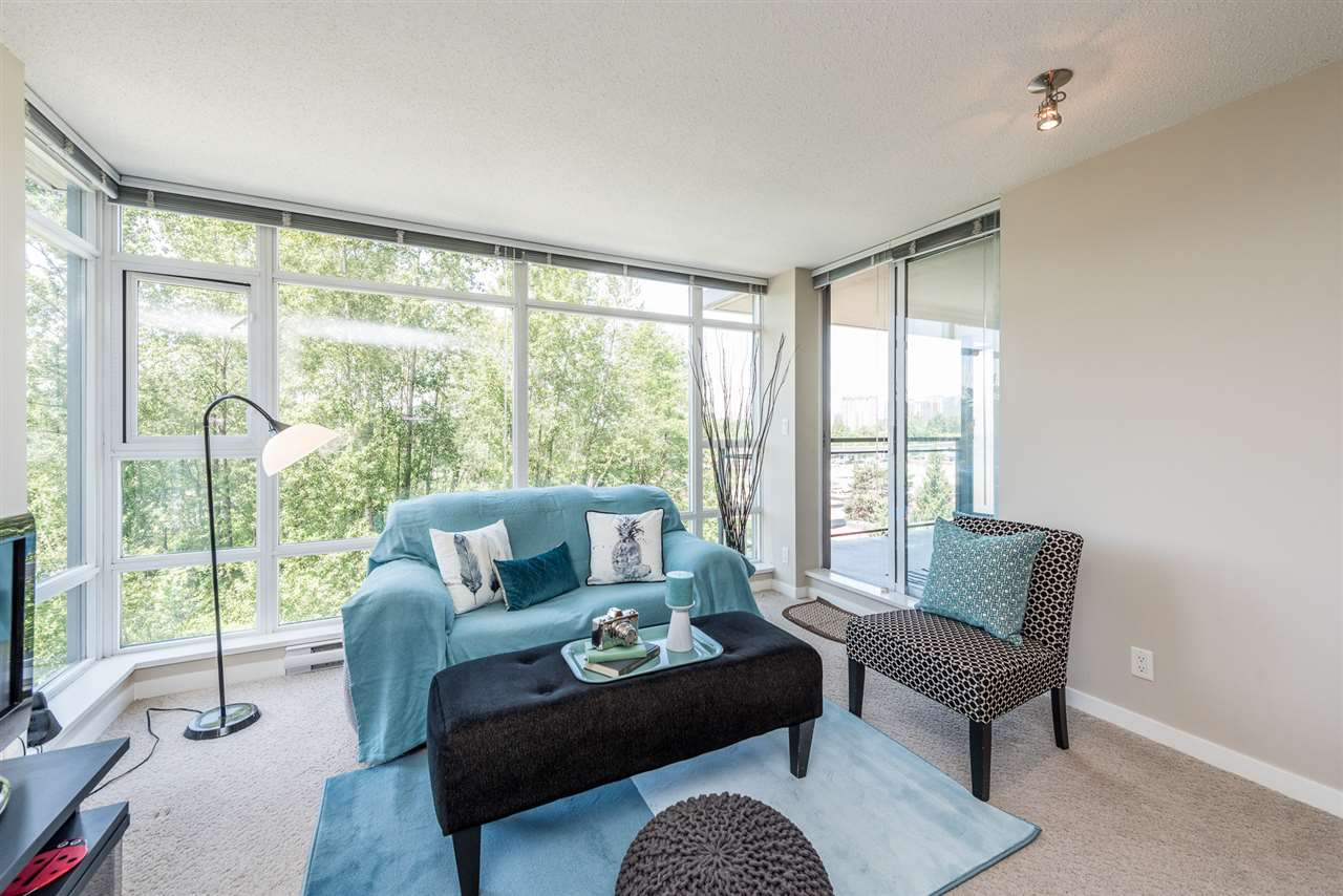 "Photo 2: 503 555 DELESTRE Avenue in Coquitlam: Coquitlam West Condo for sale in ""CORA TOWERS"" : MLS® # R2174717"