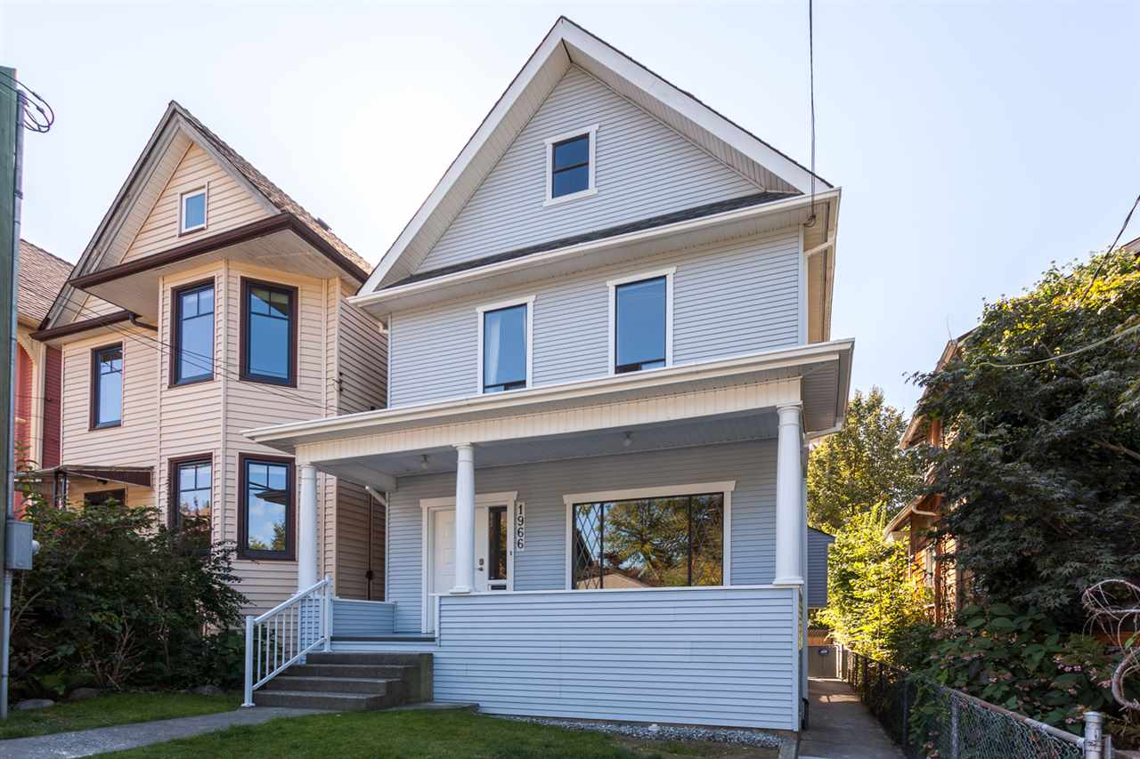 Main Photo: 1966 WILLIAM Street in Vancouver: Grandview VE House for sale (Vancouver East)  : MLS® # R2208634
