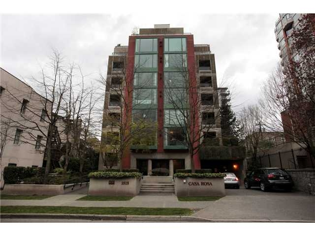 Main Photo: #501-1818 Robson St in Vancouver: West End VW Condo for sale (Vancouver West)  : MLS® # V943126