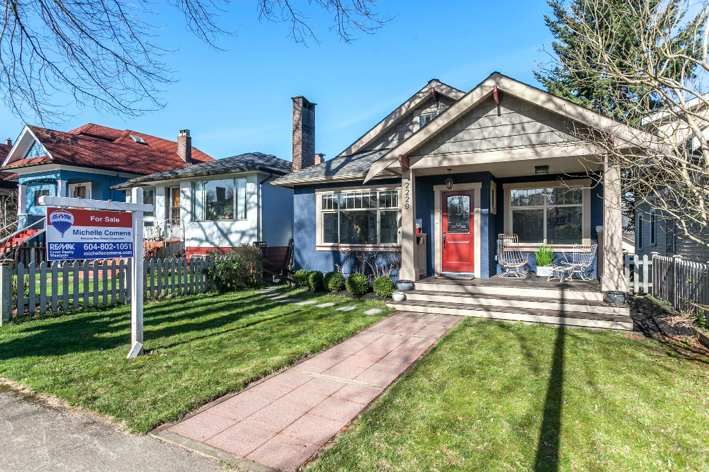 Main Photo: 2229 PARKER Street in Vancouver: Grandview VE House for sale (Vancouver East)  : MLS® # R2036900