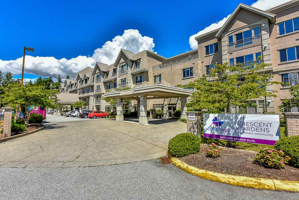 "Main Photo: 4116 1222 KING GEORGE Boulevard in Surrey: King George Corridor Condo for sale in ""CRESCENT GARDENS"" (South Surrey White Rock)  : MLS® # R2076577"