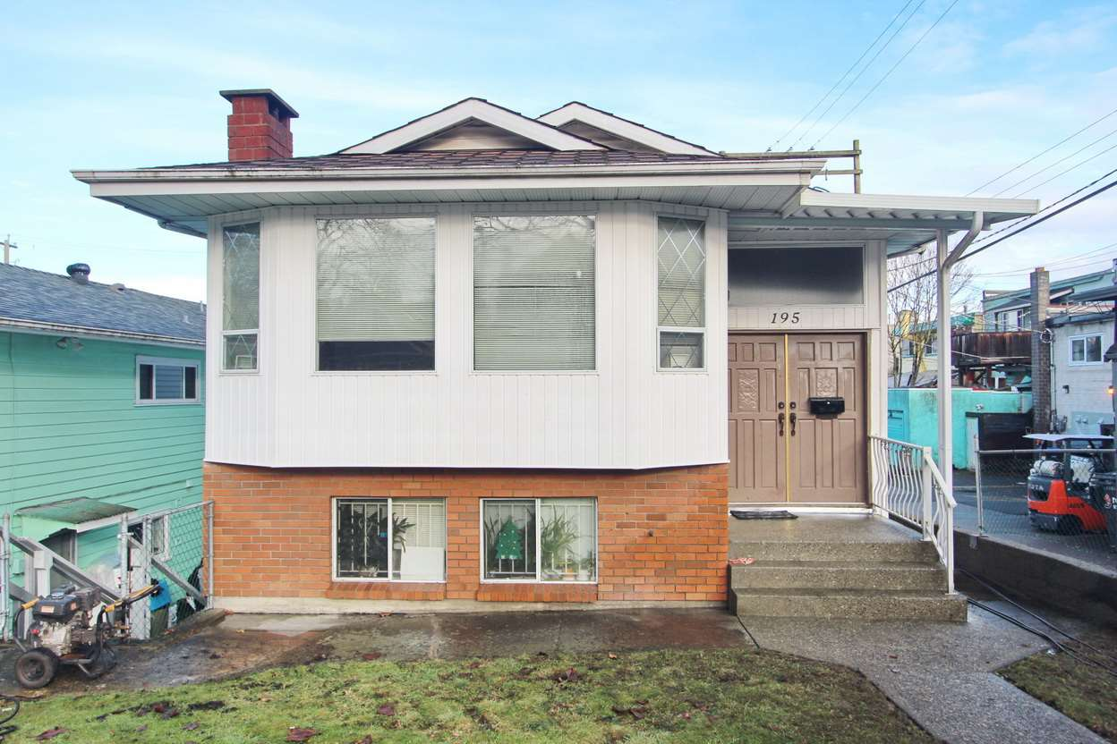 Main Photo: 195 E 20TH Avenue in Vancouver: Main House for sale (Vancouver East)  : MLS®# R2133088