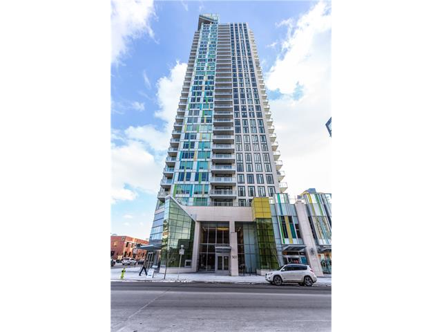 Main Photo: 3305 901 10 Avenue SW in Calgary: Beltline Condo for sale : MLS® # C4102828