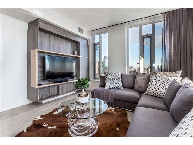 Photo 6: 3305 901 10 Avenue SW in Calgary: Beltline Condo for sale : MLS® # C4102828