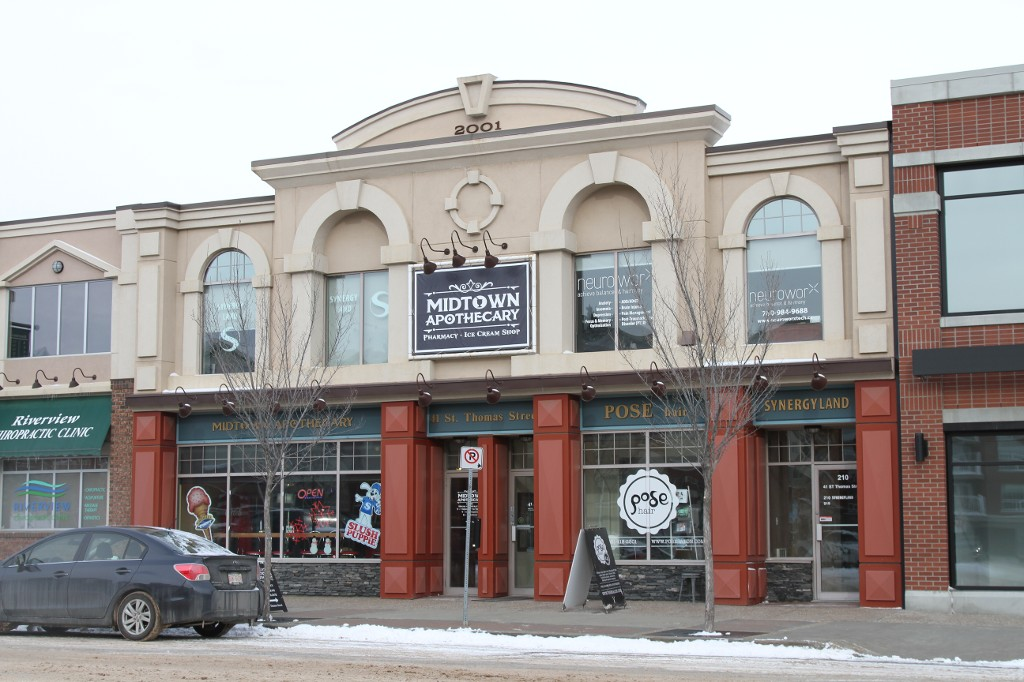 Main Photo: 210 41 St. Thomas Street: St. Albert Office for lease : MLS® # E4054535
