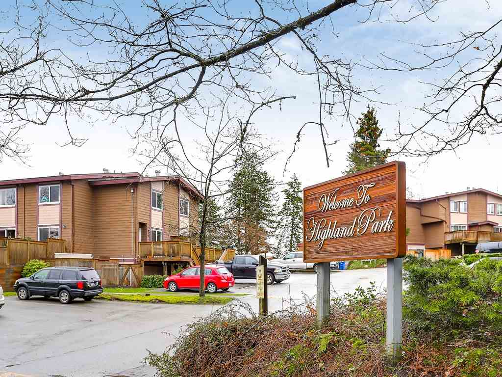 Photo 18: 6 316 HIGHLAND Drive in Port Moody: North Shore Pt Moody Townhouse for sale : MLS® # R2153614