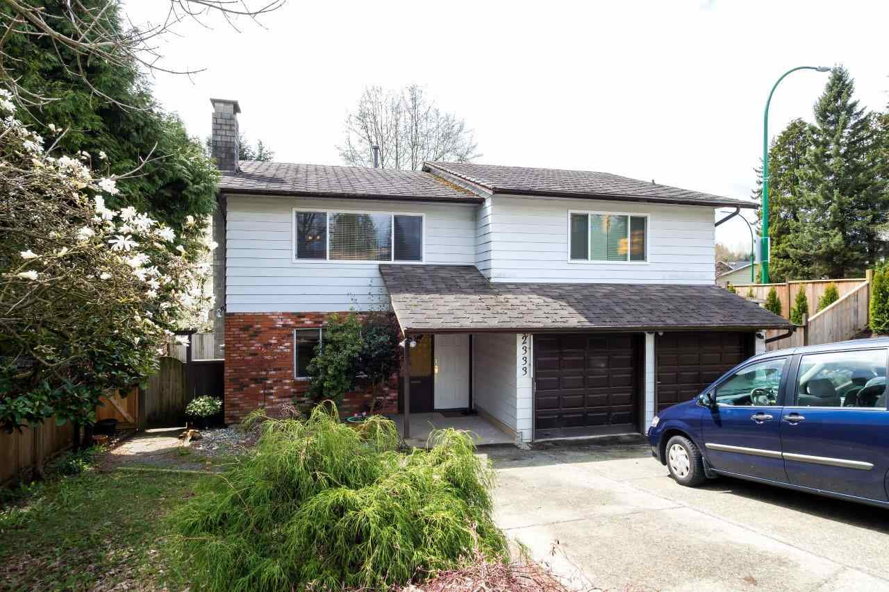 Main Photo: 2333 KIRKSTONE Road in North Vancouver: Westlynn House for sale : MLS(r) # R2156375