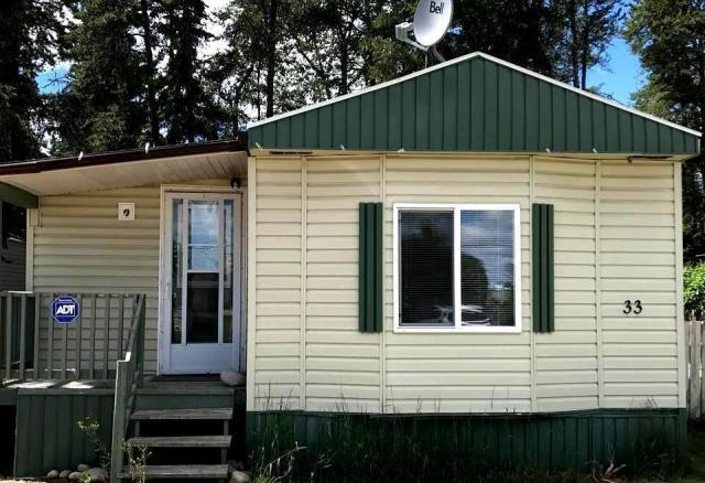 Main Photo: 33 Evergreen Mobile Park in Whitecourt: Mobile for sale : MLS® # 43898