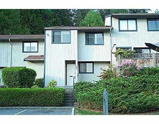 "Main Photo: 909 BRITTON Drive in Port Moody: North Shore Pt Moody Townhouse for sale in ""WOODSIDE VILLAGE"" : MLS(r) # V554742"