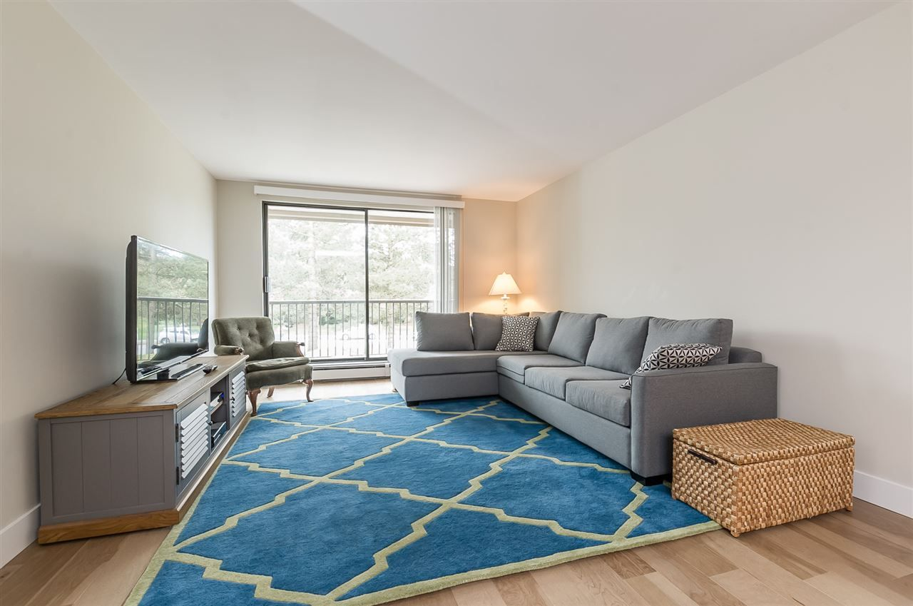 "Main Photo: 107 1720 SOUTHMERE Crescent in Surrey: Sunnyside Park Surrey Condo for sale in ""Spinnaker"" (South Surrey White Rock)  : MLS®# R2263123"