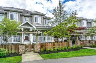 "Main Photo: 7 6852 193 Street in Surrey: Clayton Townhouse for sale in ""Indigo"" (Cloverdale)  : MLS®# R2265637"